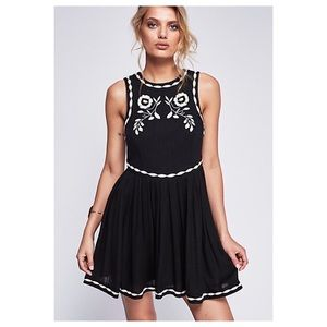 JUST IN Free People Birds Of A Feather Dress